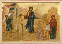 Christ guérisant