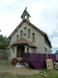 L'église du Chasseur à Saint Genest-Lerpt