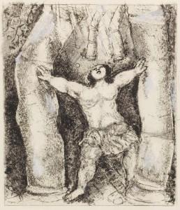 Samson par Chagall