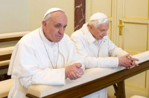 François et Benoît XVI