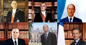 Les-présidents-de-la-Ve-République