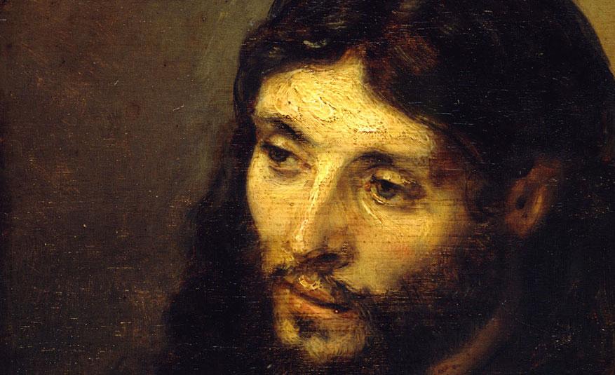 Visage du Christ Rembrandt
