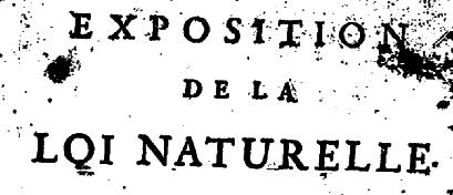 Loi naturelle