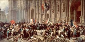Lamartine le 25 fevrier 1848