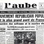 Quand le MRP était le parti de la fidélité au Général de Gaulle