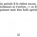 Les plaisirs de la porte, Francis Ponge.