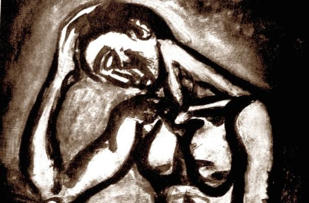 "G. Rouault, ""Miserere"", 1917."