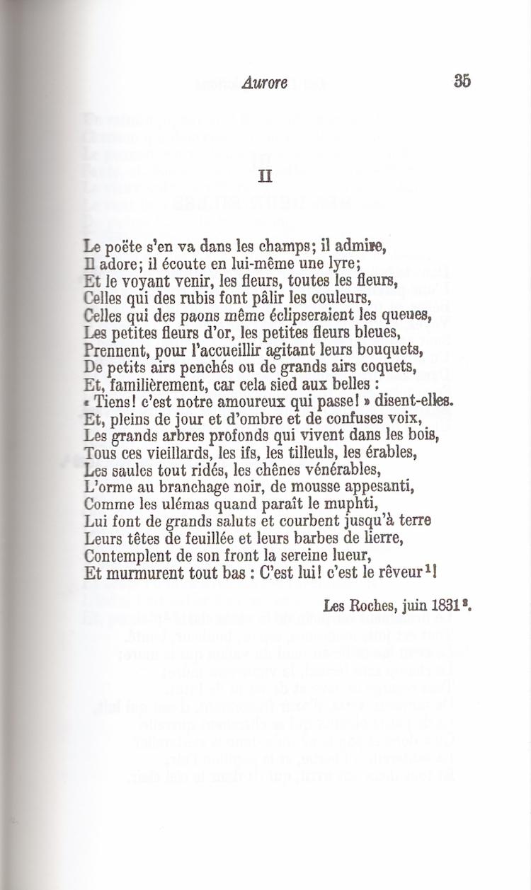Le Po 232 Te S En Va Dans Les Chants Victor Hugo Cahiers