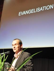 Forum Leadership 2014 : Jean-Marc Liduena sur le sujet de l'Evangélisation 2.0 - copyright Alpha France 2014