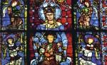 Vitrail, Cathédrale de Chartres.