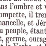 La première parole, Victor Hugo.