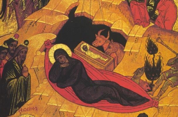 Icône de la Nativité.