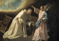 La Jérusalem céleste révélée à saint Pierre Nolasque, fondateur de l'ordre des Mercédaires, par Francisco de Zurbaran (Wikimédia)