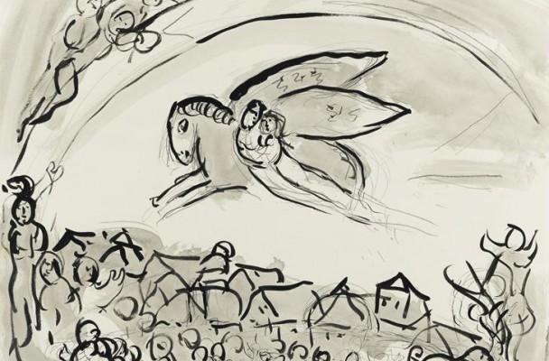Le Cantique des cantiques, Marc Chagall.
