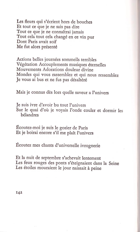 Ivre Davoir Bu Tout Lunivers Apollinaire Cahiers Libres