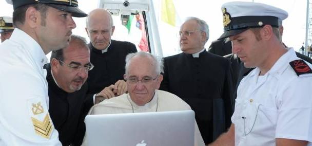 PapeFrançoisInternet