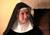 Une bénédictine de l'abbaye Notre Dame de Fidélité, à Jouques. (c) C. Besnault