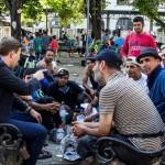 """Pierre Jova : """"j'ai été frappé par la dignité souffrante des migrants"""""""