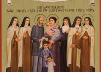 Icone de la famille Martin, parrocchia Marcallo, It.
