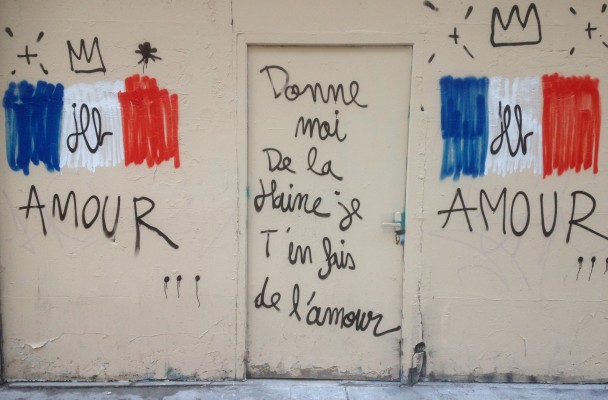 Paris, rue Saint-Denis, 18/11/15. Photo Joseph Gynt.