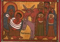 Icône, tradition copte éthiopienne.
