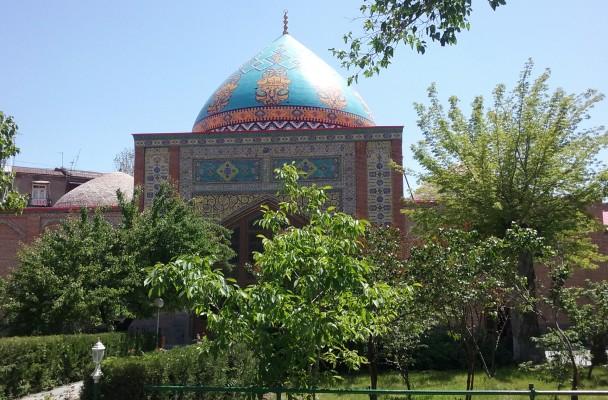 La Mosquée Bleue à Yerevan, Arménie.  Photo : Thomas Ciboulet.
