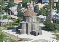 Ancienne cathédrale arménienne de Kars, aujourd'hui mosquée.