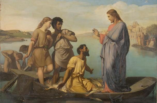 La pêche miraculeuse, H.-P. Picou