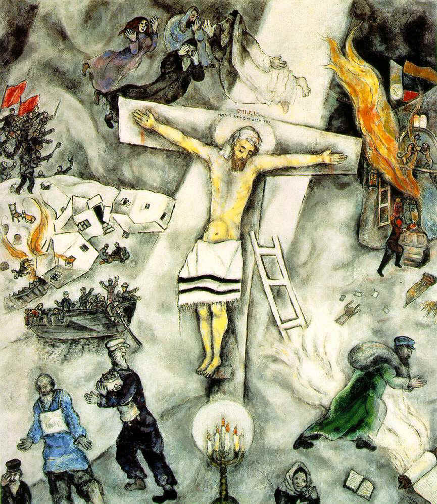 Marc Chagall, Crucifixion blanche.