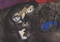 Marc Chagall, le prophète Jérémie.
