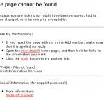 Chrétien et libéral ? erreur 404