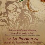 Lecture publique : méditer la Passion du Christ avec Péguy