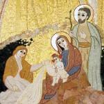 La Vierge de Noël et la Trinité