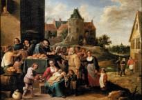Les sept œuvres de miséricorde - David Teniers le Jeune - 1640
